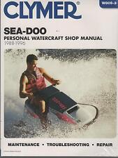 CLYMER 1988-1996 SEA-DOO WATERCRAFT GT, SP, SPX, XP, HX SERVICE MANUAL  W809-3