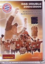 FC BAYERN - Das Double 2004/2005 (DVD) *NEU OVP* *RARITÄT* München