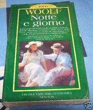 Notte e giorno Virginia Woolf