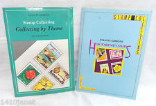 Stanley Gibbons Stamp Books Lot 2 How to Identify Stamps & Collecting by Theme