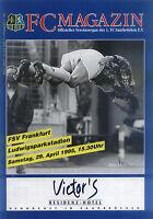 II. BL 94/95 1. FC Saarbrücken - FSV Frankfurt, 29.04.1995 - Joe-Max Moore