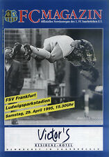 II BL 94/95 1. FC Saarbrücken - FSV Francoforte, 29.04.1995 - Joe-Max Moore