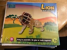the green board game co build and learn lion