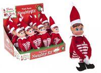 Girls Naughty Elf Girl Xmas A Props Christmas Toy Doll Put Xmas Plush on shelf