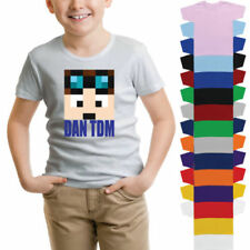 DanTDM Graphic T-Shirts & Tops (2-16 Years) for Boys