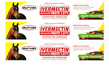 New listing Ivermectin Paste Equine Dewormer - 3 Pack 3-Pack