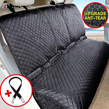 Vailge Bench Dog Seat Cover for Back Seat, 100% Waterproof Dog Car Seat Covers,