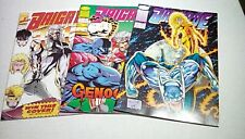Brigade issues 1 2 3 (Image) 1st series 1992 -- Very High Grade -- NEVER READ