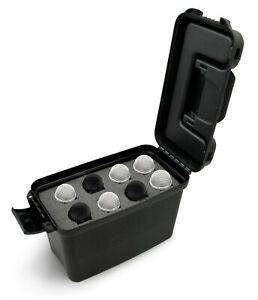Hard Shell Mic Case holds 8 Microphones by Shure, Sennheiser Mics XLR Dynamic