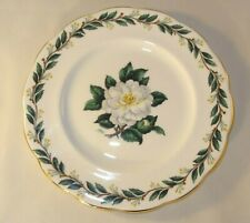 """Royal Albert Lady Clare Floral 7"""" Side Cake Sandwich Plate 1960's VGC"""