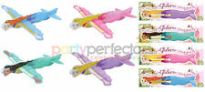 6 Princess Gliders - Pinata Toy Loot/Party Bag Fillers Wedding/Kids Childrens