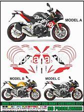 kit adesivi stickers compatibili  TUONO V4 TAIL