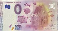 BILLET 0  EURO AIRBORNE MUSEUM FRANCE  2015  NUMERO 100
