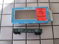 lifelike EJ&E chicago outer belt gondola car with load HO scale..