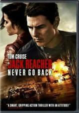 Jack Reacher Never Go Back (region 1 DVD Good) 032429262240