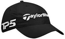 Golf Taylormade Tour LiteTech Tp5 Black Hat Cap Adjustable Free Fast shipping b