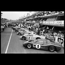 Photo A.013062 FORD GT 40 24 HEURES LE MANS 1967