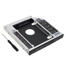 12.7mm SATA HDD SSD 2nd Hard Drive Caddy Optibay for Laptop Universal CD DVD ROM