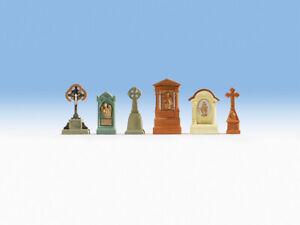 Gravestones. HO/OO gauge accessories Noch 14871