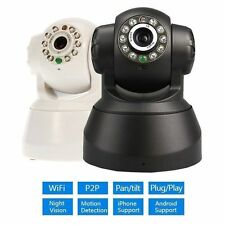 Pan Tilt Wireless Wifi Audio Indoor P2P HD IP Camera Plug and Play PC/Phone View