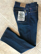 Polo Ralph Lauren Mens Jeans 36 32 Bootcut Richmond Dark Wash 710651182001 NWT