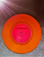 "U2 Another Day - Orange Vinyl Irish 7"" vinyl single *** Bono Vox Rare Rarest"