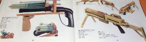 RUBBER BAND GUNS (RBG) OFFICIAL GUIDE BOOK japan japanese pistol #0615