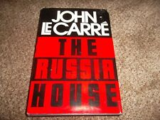 The Russia House by John Le Carre (1989, Hardcover).Classic Spy Thriller