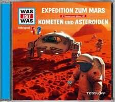CD * WAS IST WAS - FOLGE 58 -EXPEDITION ZUM MARS /KOMENTEN & ASTEROID # NEU OVP!