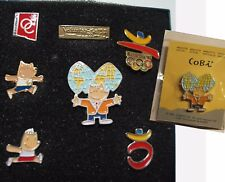 7 pins COBI /Juegos Olimpicos -Paralímpico 92 Barcelona Raros/ Impecables JJOO
