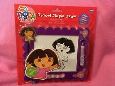 DORA THE EXPLORER Travel Magic Draw ~ Drawing Screen with Magnetic Pen    New