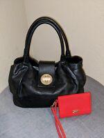 BNWOT Kate Spade Stevie Bexley Handbag Turnlock Hobo Satchel w/BONUS WRISTLET