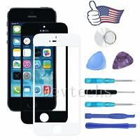 For Apple iPhone 5 SE Front Outer Screen Glass Lens Replacement Repair Tools Kit