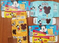 Disney Mickey Mouse Mickey Frozen food boxes waffles and ice cream