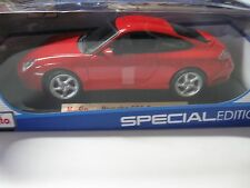 Maisto1:18 Porsche 911 Carrera 4S  Diecast CAR Model  Red