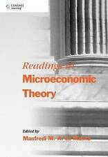 Readings in Microeconomic Theory, Manfredi La Manna, La Manna, Manfredi, Very Go