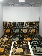 Tops the Magazine of Magic 1949. Eleven of 12 months, missing January.