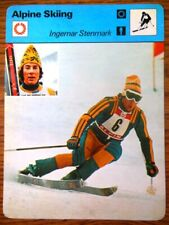 1978-80 Sportscaster Winter Olympics card - You Pick Athlete