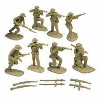 TSSD 1/32 NORTH VIETNAMESE ARMY NVA 16 PLASTIC SOLDIERS 6 WEAPONS FREE SHIP