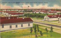 Augusta, GEORGIA - Camp Gordon - Birdseye - 1941 - US Army, Free WWII Mail