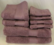 Ralph Lauren Greenwich Purple Eight Piece Bathroom Towel Set New
