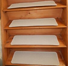 """13=STEP 9""""X 30"""" Stair Treads Staircase WOVEN WOOL CARPET JUTE BACKING ."""