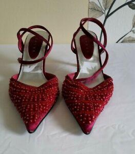Début Women Beaded Shoes size UK 6 EU 39