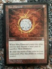 Vintage Magic   NM/MINT MTG Stronghold Mox Diamond, NO RESERVE!!!