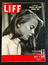 Life Magazine August 27 1951 13-Year Old Model