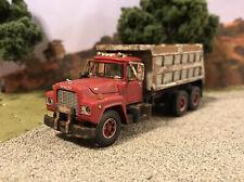 Mack R Tandem Dump Truck 1/64 Diecast Rusty Weathered Semi First Gear Tipper