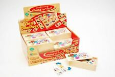 Traditionnel Wood 'N' Fun 28 Pièces Ferme Dominos For 3 Ans+