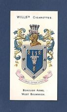 WEST BROMWICH Coat of Arms  Black Country Sandwell 1905 original print card