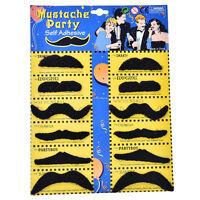 12pcs/Set costume Party Halloween fausse moustache barbe  YF