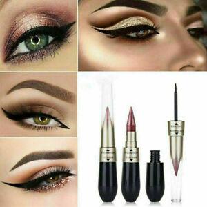Matte Natural Waterproof Liquid Eyeliner Pen Eye Liner Pencil Shadow Makeup Gift